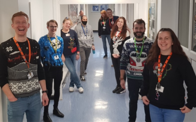 Festive fun on HGHS's Christmas Jumper Day!