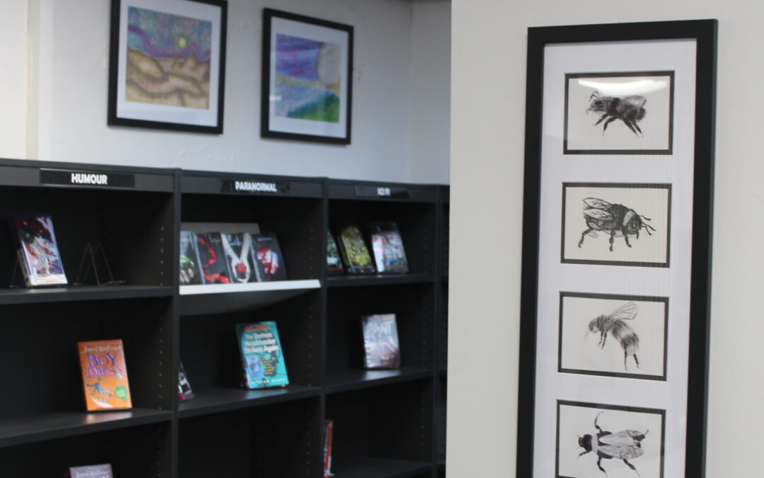 New library welcomes poet