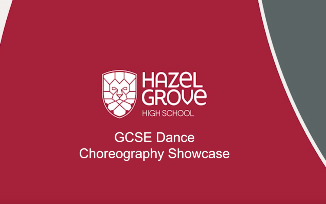 Dance showcase from the class of '21