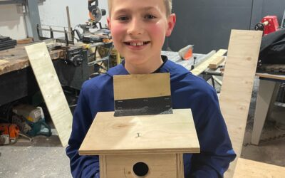 Home woodwork project is a win for wildlife